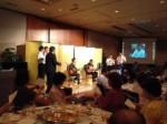 業界ネットワークの記念パーティがヒルトン大阪でありました!
