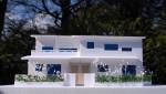 西荻窪の2世帯住宅のラフ模型です