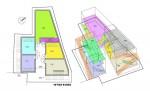 超・変則地でのタウンハウス(長屋)計画