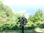 隠岐世界ジオパーク観光をしてきました(ジオバス その4 白島崎展望台とかぶら杉)