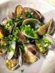 100%天然素材家庭料理!貝が告げる春の訪れはシンプルな酒蒸しで!