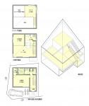 ロースペックな都市型狭小住宅計画