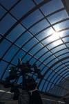 逆光でもシルエットにしないHDR--秋の太陽を表現する一つの方法