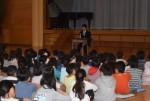 横浜で小学生とパラリンピアンの交流