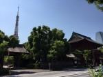 芝・増上寺の思い出