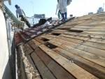 耐震改修工事(屋根の軽量化)