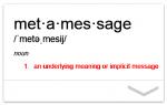 Metamessage 【言語の伝える真の意味】- トランプの嘘の暴き方