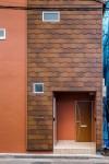 屋根材を外壁材に使うことで、素材感を味わえる材料に!見映えが生き生きと!