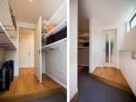快適な玄関収納とは?仕舞うだけではない、コート掛けなど色々な工夫で機能が加わる