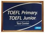 運営している英語教室アイスクールTOEFL、英検から表彰されました