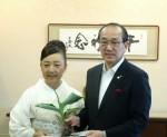 広島カンナ・P記録3日目市長表敬訪問