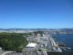 元宇品から望む広島市街地