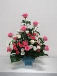 ピンクのバラがくっきりと・作品21
