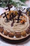 10月のお菓子教室 応用クラスのレッスン内容『ハロウィン マロンパイ』