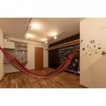 ハンモックで極楽の時間を過ごせるデザイナーズの賃貸アパート。