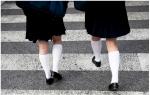 Japanese Girls!  制服のスカートを拒否しよう