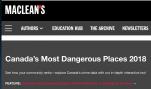 カナダで最も危険な10の地域 - 高校留学に気をつけて!