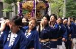 京橋でお神輿