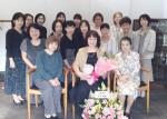 お菓子教室20周年記念ランチパーティー
