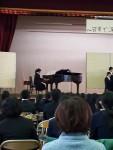 合唱祭  中学校にて