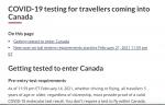(2/23)カナダ厳格な入国規制開始-3日間の強制ホテル隔離詳細