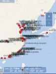 ナント!世界の主要航路や沿岸部を米露の軍艦・潜水艦が大閉鎖中!!