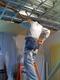 電気工事と床レベル調整