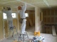 塗装工事が始まりました。