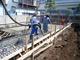 板橋区大原町/基礎耐圧盤コンクリート打設しました