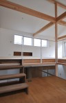 田の字の家-木造の小さな家/自由な平面計画の提案
