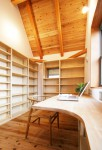 北浦和の家 お父さんの書斎
