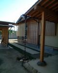 地元材で建てた普通の数奇屋二世帯住宅(実家) 外観2