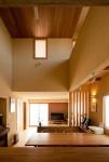 「成田東の家」リビングダイニング1