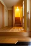「成田東の家」玄関ホール