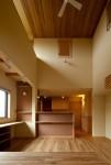 「成田東の家」リビングダイニング2
