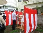 賃貸併用住居の地鎮祭