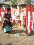 地鎮祭が始まる前に鍬入れの説明を・年金対策