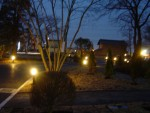 「夜景」 老人ホームのヒーリングガーデン