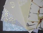 伝統工芸品「江戸からかみ」のメッセージカード