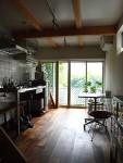 独身者の小さな家 こだわりのダイニングキッチン