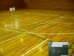 スポーツライン引き(バスケットボール改線)