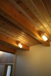 ピアノ室の天井