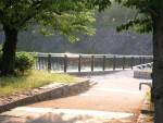 大阪城公園風景 3 1日の終わるを感じる間(斜陽)