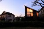 ハウス・ハックルベリーフィン(公園側からの夕景色)