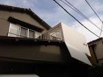 屋根の上のウッドデッキ・プライバシーを守る(改修事例)