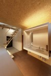 玄関ギャラリーに、洗面カウンターがあります(1)