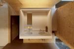 玄関ギャラリーに、洗面カウンターがあります(2)