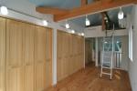 長崎の家/屋根なり天井、ロフト付の3階子供室