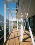 中野富士見町の家-3テラス