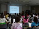 東村山市男女共同参画フォーラム「チェアロビクス講演会」